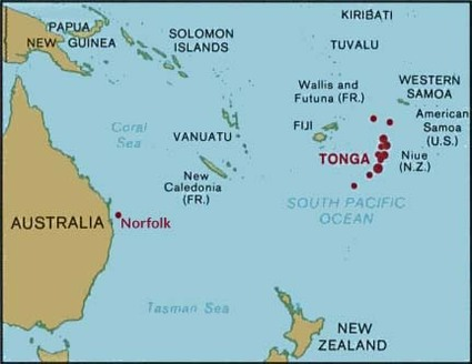 Missionaries Tongan Islands Home